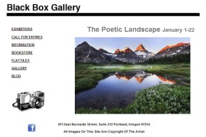 new exhibit at the Black Box Gallery...