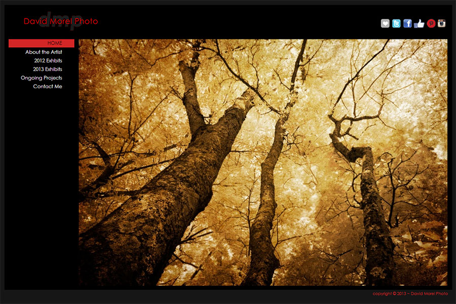 New year new site and new blog david morel photo for Fine art photography sites