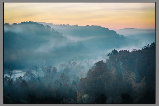 Natchez Trace Sunrise