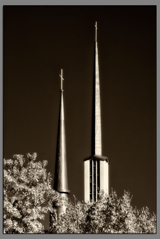 Twin Steeples