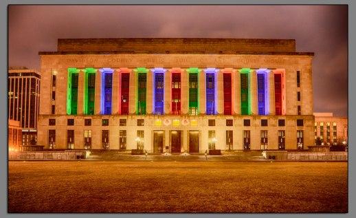 Nashville Courthouse Lights