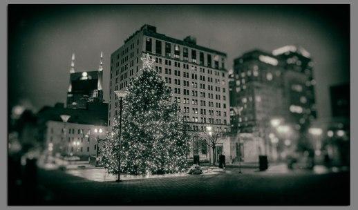 Nashville Christmas Tree Toned
