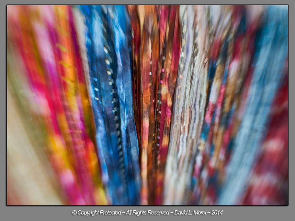 Fabric strips...
