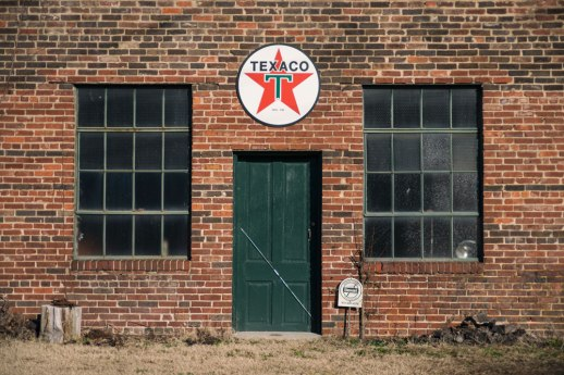 """Texaco"", Wartrace, TN ~ © ALL IMAGES COPYRIGHT PROTECTED. ALL RIGHTS RESERVED. – DAVID L. MOREL ~ 2014"