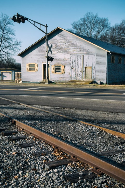 """Rail Crossing Bunkhouse"", Wartrace, TN ~ © ALL IMAGES COPYRIGHT PROTECTED. ALL RIGHTS RESERVED. – DAVID L. MOREL ~ 2014"