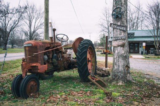"""Antiques and Tractor"", Ethridge, TN ~ © ALL IMAGES COPYRIGHT PROTECTED. ALL RIGHTS RESERVED. – DAVID L. MOREL ~ 2014"