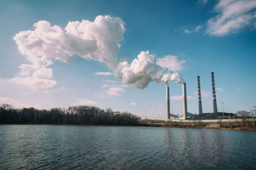 """Coal Plant"", Cumberland City, TN ~ © ALL IMAGES COPYRIGHT PROTECTED. ALL RIGHTS RESERVED. – DAVID L. MOREL ~ 2014"