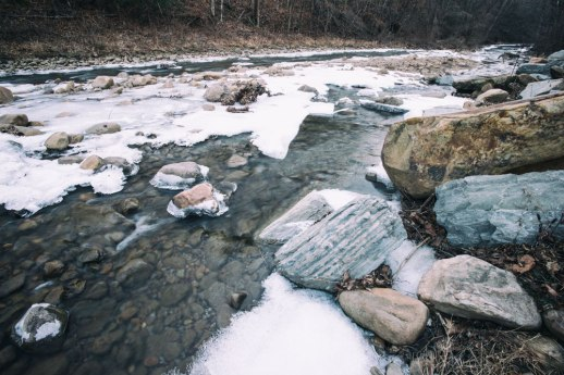 """Icy Stony Fork"", Clinchmore, TN ~ © ALL IMAGES COPYRIGHT PROTECTED. ALL RIGHTS RESERVED. – DAVID L. MOREL ~ 2015"
