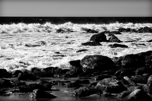 """Breaking Waves and Rocks"", Laguna Niguel, CA ~ © ALL IMAGES COPYRIGHT PROTECTED. ALL RIGHTS RESERVED. – DAVID L. MOREL ~ 2015"