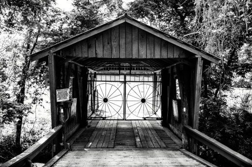 """Covered Bridge"" © ALL IMAGES COPYRIGHT PROTECTED. ALL RIGHTS RESERVED. – DAVID L. MOREL ~ 2015"