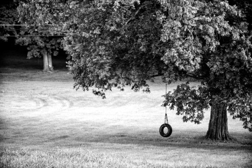 """Tire Swing"" © ALL IMAGES COPYRIGHT PROTECTED. ALL RIGHTS RESERVED. – DAVID L. MOREL ~ 2015"