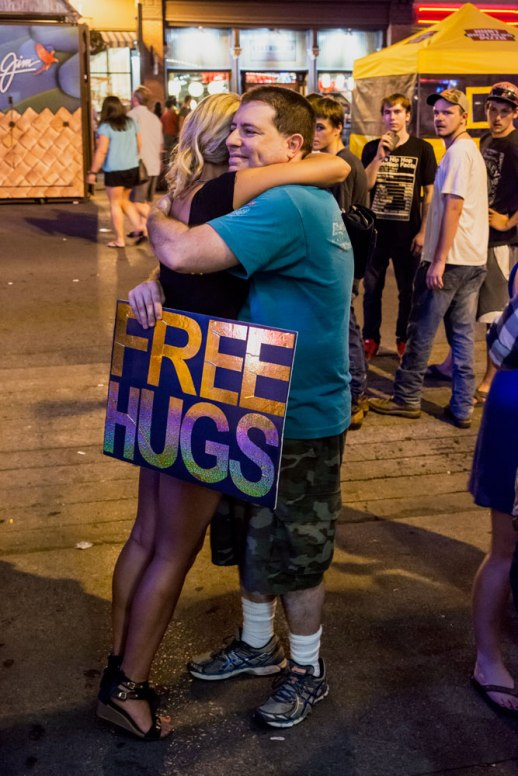 """Free Hugs"" © ALL IMAGES COPYRIGHT PROTECTED. ALL RIGHTS RESERVED. – DAVID L. MOREL ~ 2015"
