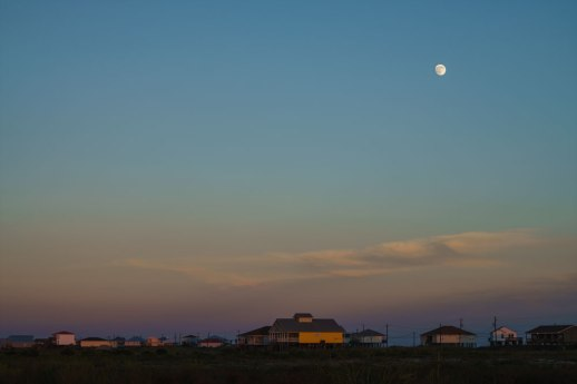 Moon-rise Over Dauphin Island - Dauphin Island, AL © ALL IMAGES COPYRIGHT PROTECTED. ALL RIGHTS RESERVED. – DAVID L. MOREL ~ 2016